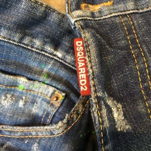 DSQUARED Jeans - DSquared2 Cool Guy Paint Splatter Jean New 48/32